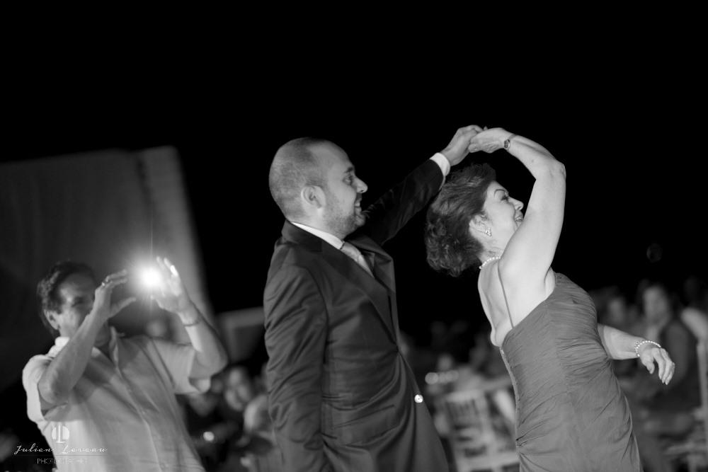 Destination wedding photographer - Real Marriage at the Westin Resort Vallarta - dance