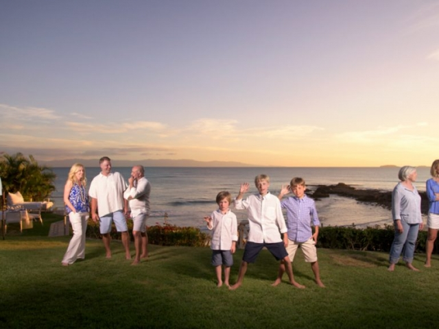 Professional photographer - Family session in Punta Mita