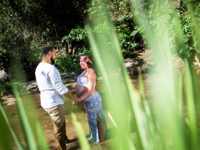 Professional photographer - Pregnancy photo shooting