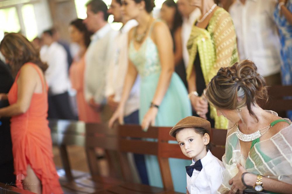 Professional wedding photographer - La Cruz de Huanacaxtle at Vallarta Gardens - Church ceremony with kids