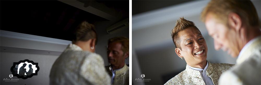 Professional photographer - LGBT Wedding in Puerto Vallarta - gay couple