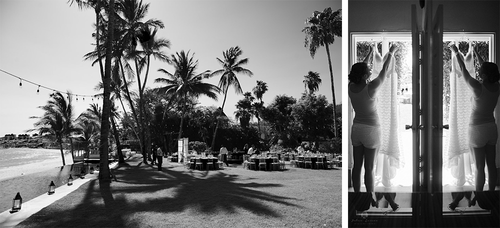 Puerto Vallarta Wedding Photographer - Martoca beach garden