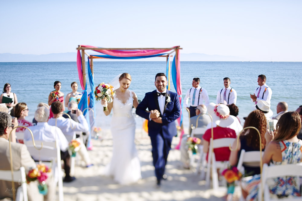 Puerto Vallarta Wedding Photographer - ceremony on the beach