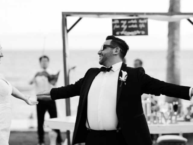 Wedding Photography - First dance at Martoca Beach Garden