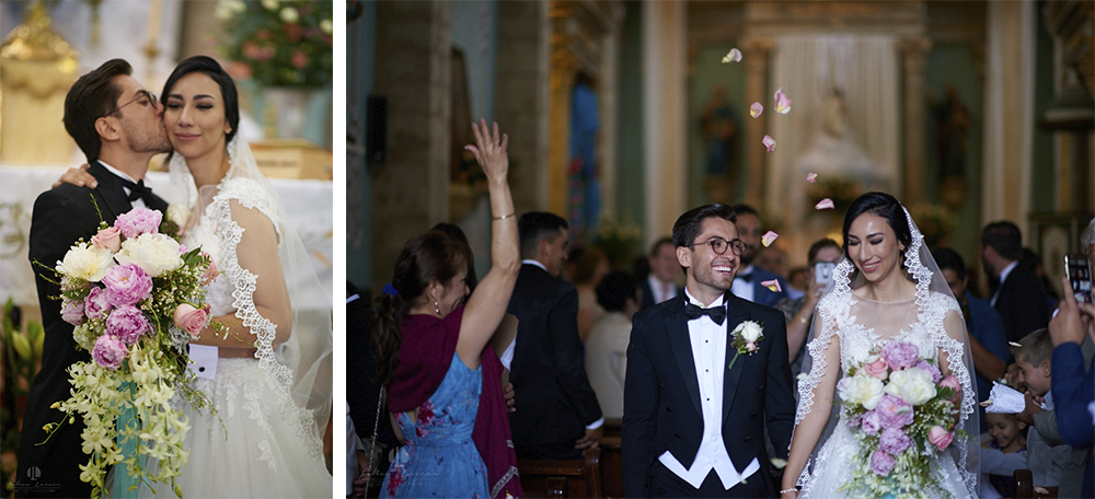 Wedding Photographer - Documentation at San Sebastian del Oeste, Jalisco - just married scene