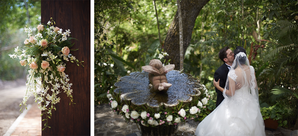 Wedding Photographer - Documentation at San Sebastian del Oeste, Jalisco - flower arrangement