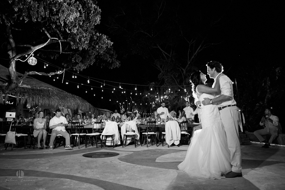 Professional Photographer in Puerto Vallarta - Real Wedding at Casa Karma - first dance