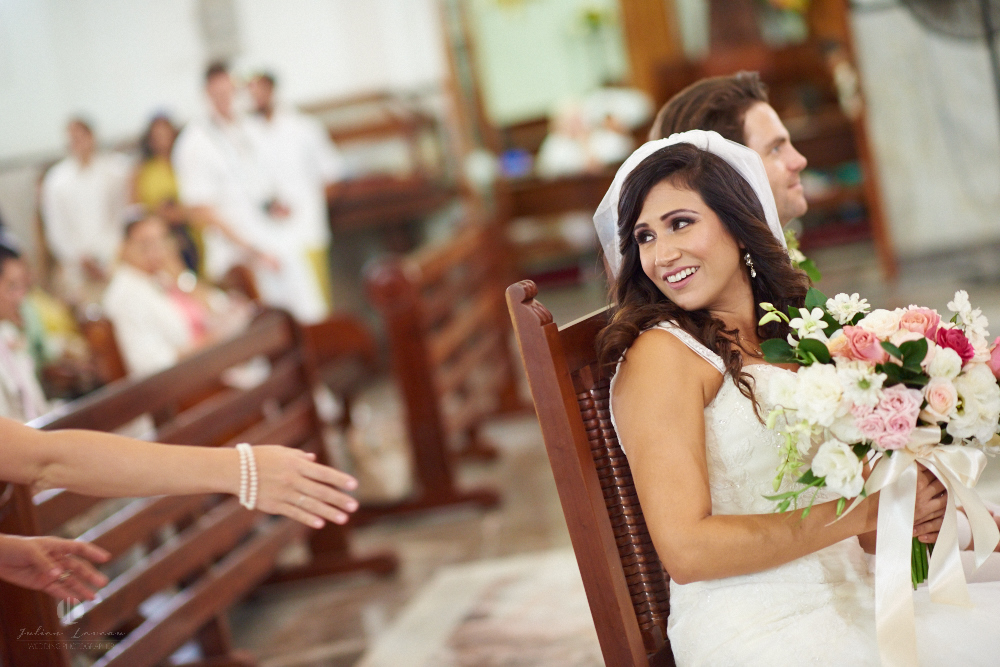 Professional Photographer in Puerto Vallarta - Real Wedding at Casa Karma - Ceremony looking back