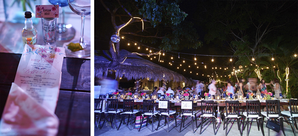 Professional Photographer in Puerto Vallarta - Real Wedding at Casa Karma - dinner reception
