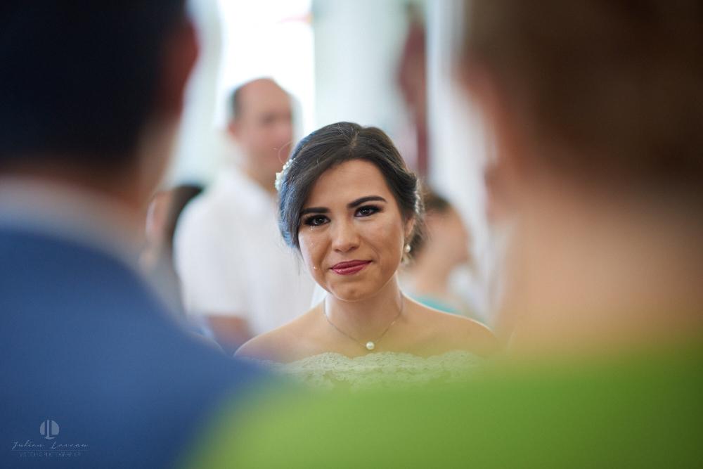 FOtógrafo Profesional en Nayarit, Boda en Bucerías - novia emocionada