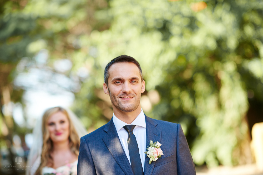 Professional Photographer in Sayulita, Nayarit - Destination Wedding Mexico - Groom wearing suit