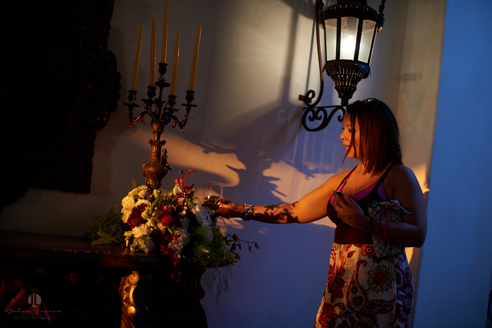 Professional wedding Photographer in Puerto Vallarta - Hacienda San Angel - photojournalism guest
