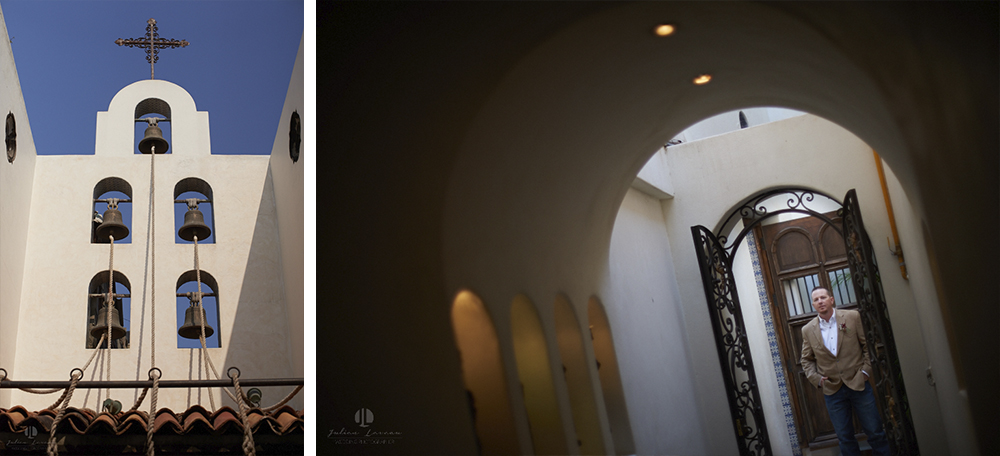 Professional wedding Photographer in Puerto Vallarta - Hacienda San Angel - church and bell