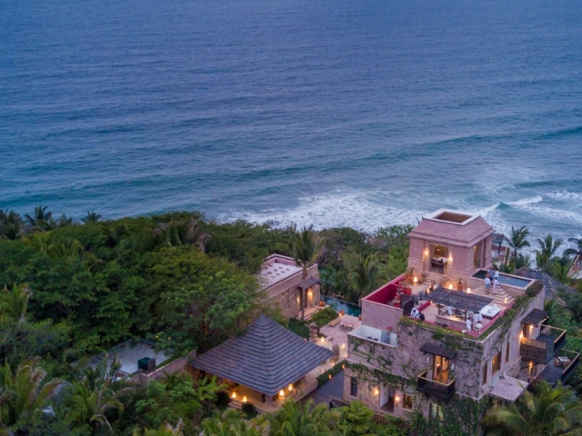 Wedding proposal at the Imanta resort