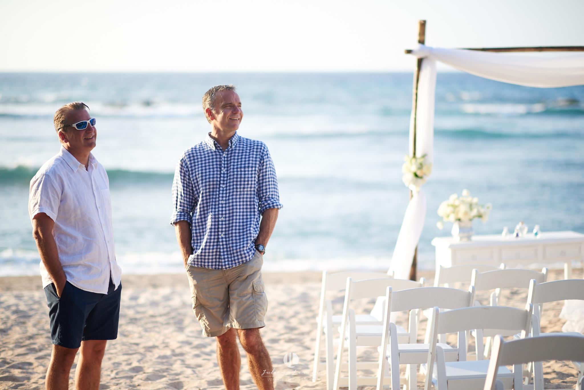 Punta Mita photographer - wedding at the beach club setting