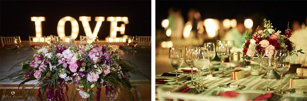 Destination wedding photographer - Real Marriage at the Westin Resort Vallarta - wedding planner arrangement