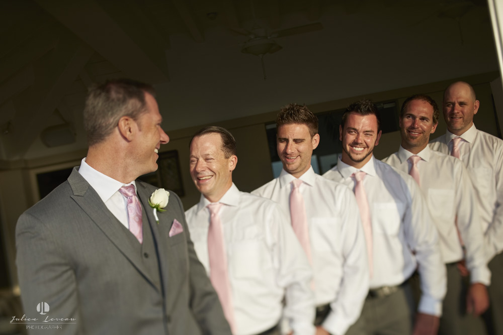 Wedding photographer - Groom and best men