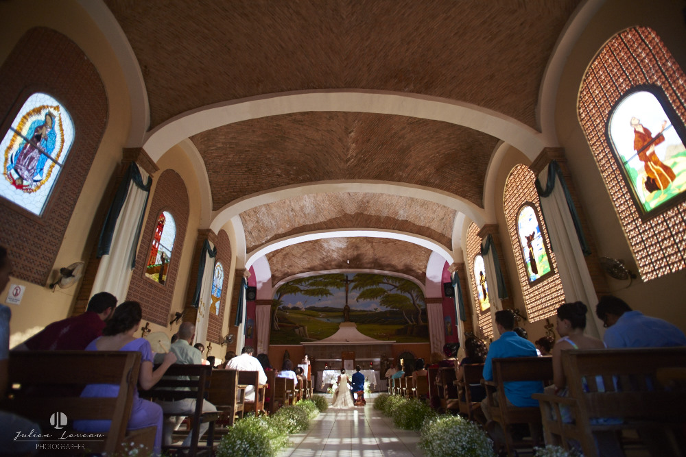 Wedding photographer - Hacienda San Pancho, Nayarit - church
