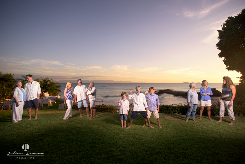 Professional photographer - Family session in Punta Mita