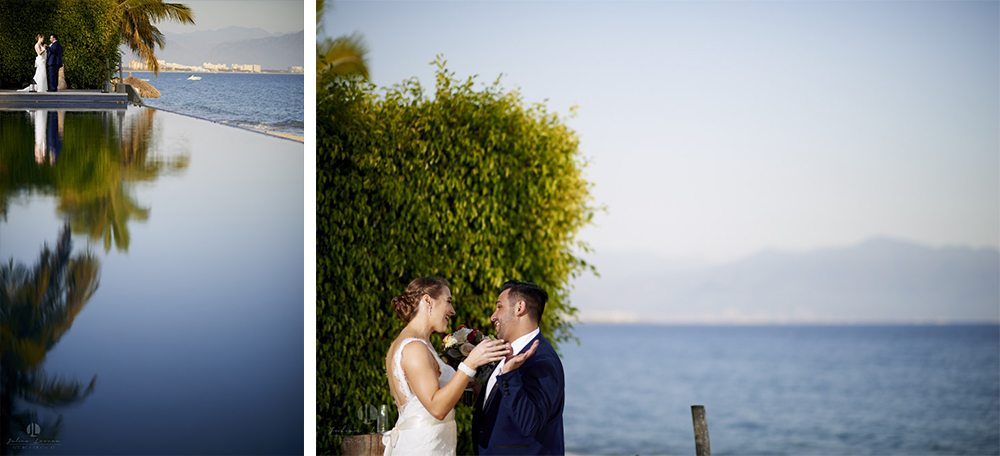 Puerto Vallarta Wedding Photographer - bride and groom at Martoca, Bucerias