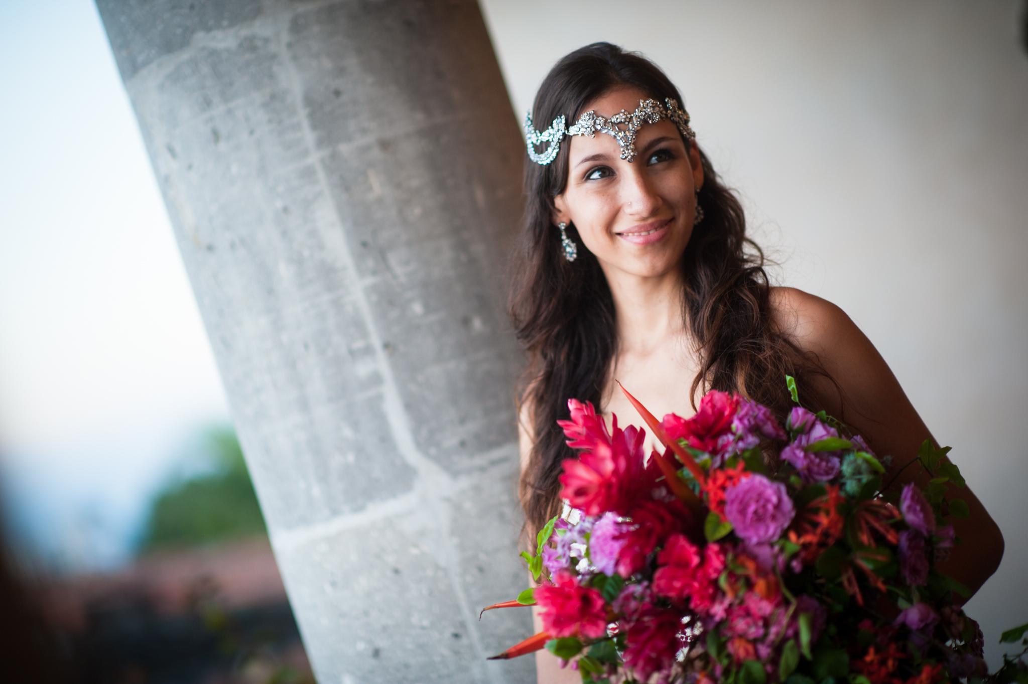 Wedding Photographer in Puerto Vallarta - Beautiful bride