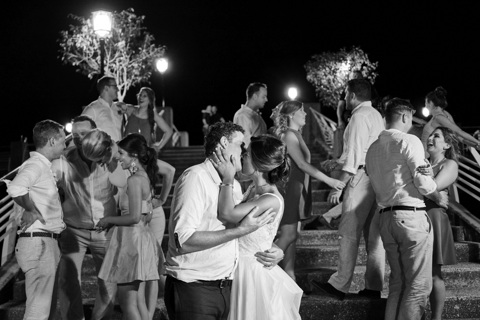 Professional wedding photographer in Puerto Vallarta - Oscar's restaurant