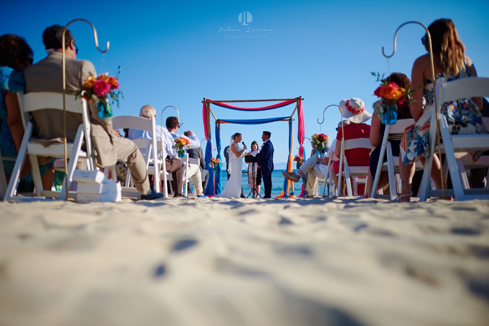 Wedding Photography - Ceremony on the beach