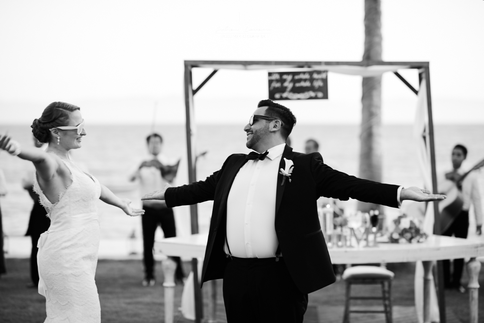 Wedding Photography - First dance at Martoca Beach Garden