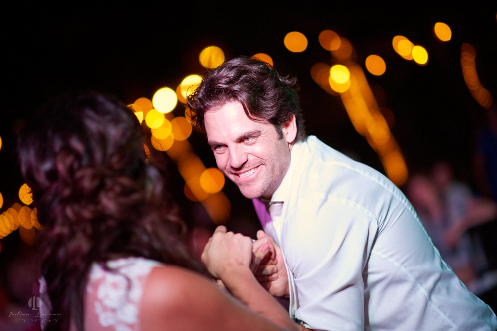 Professional Photographer in Puerto Vallarta - Real Wedding at Casa Karma - dancing couple