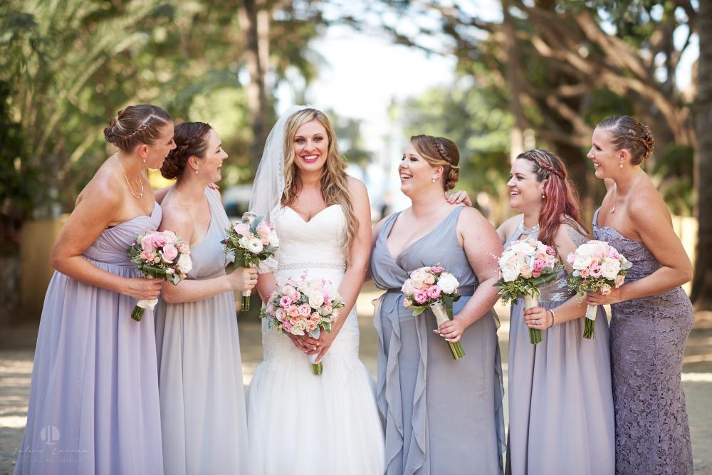 Professional Photographer in Sayulita, Nayarit - Destination Wedding Mexico - bride and maids