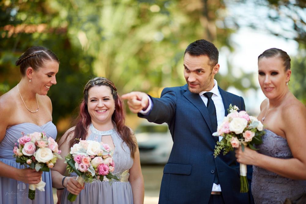 Professional Photographer in Sayulita, Nayarit - Destination Wedding Mexico - groom funny pointing