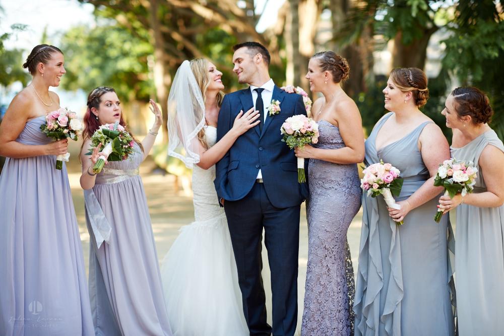 Professional Photographer in Sayulita, Nayarit - Destination Wedding Mexico - groom bride and maids