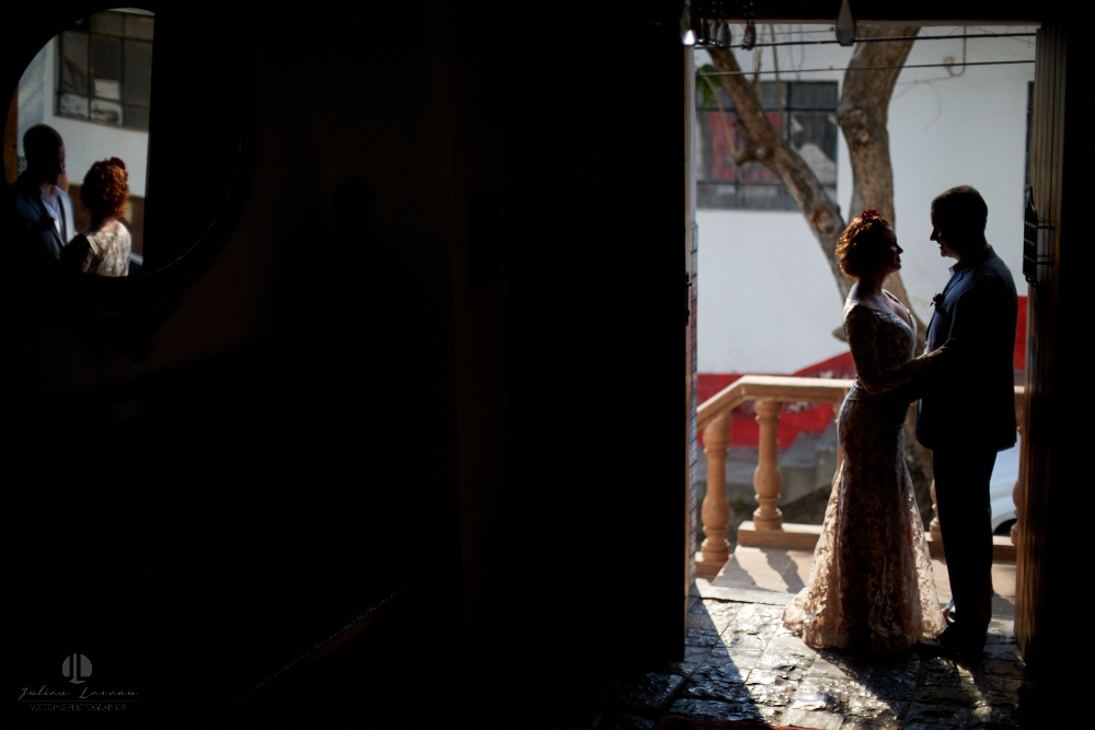 Professional wedding Photographer in Puerto Vallarta - Hacienda San Angel - entrance