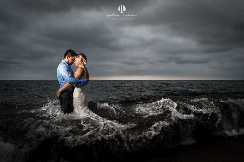 Photo session in Puerto Vallarta - Trash the dress