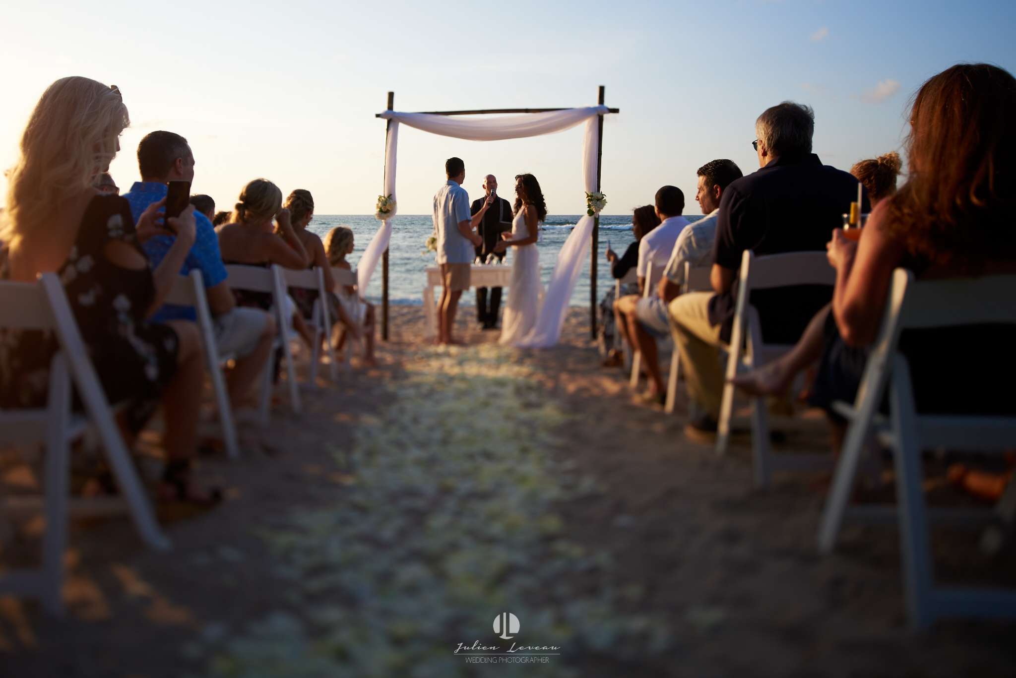 Punta Mita photographer - wedding at the beach club ceremony