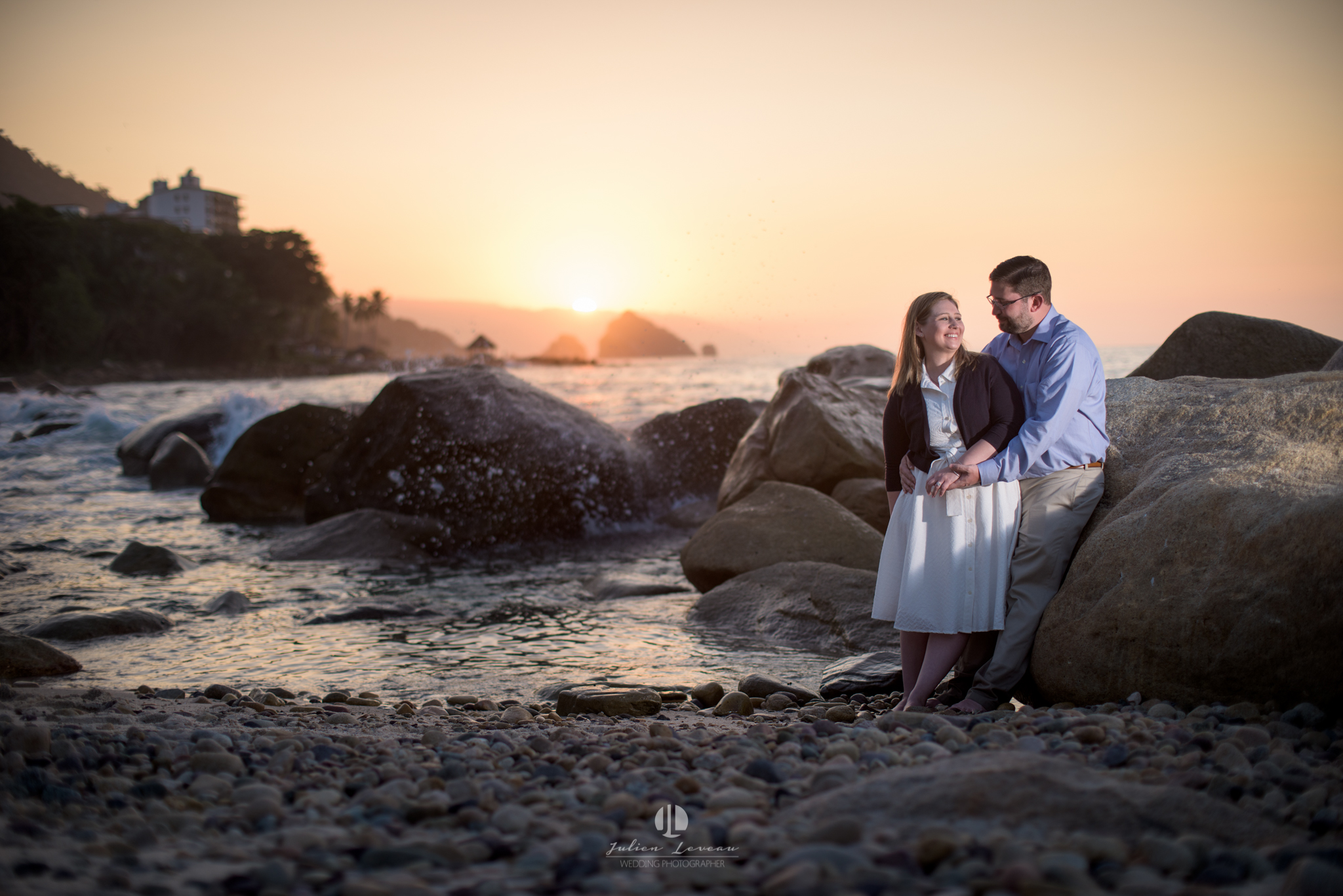 Engagement session in Punta Mita