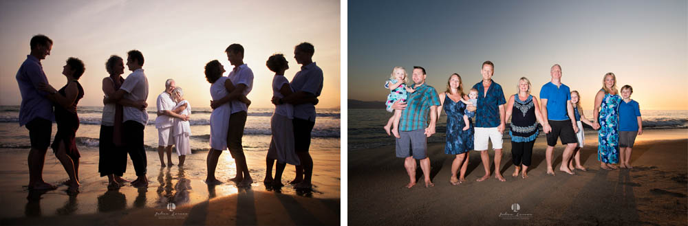 Punta Mita family photographer - during sunset