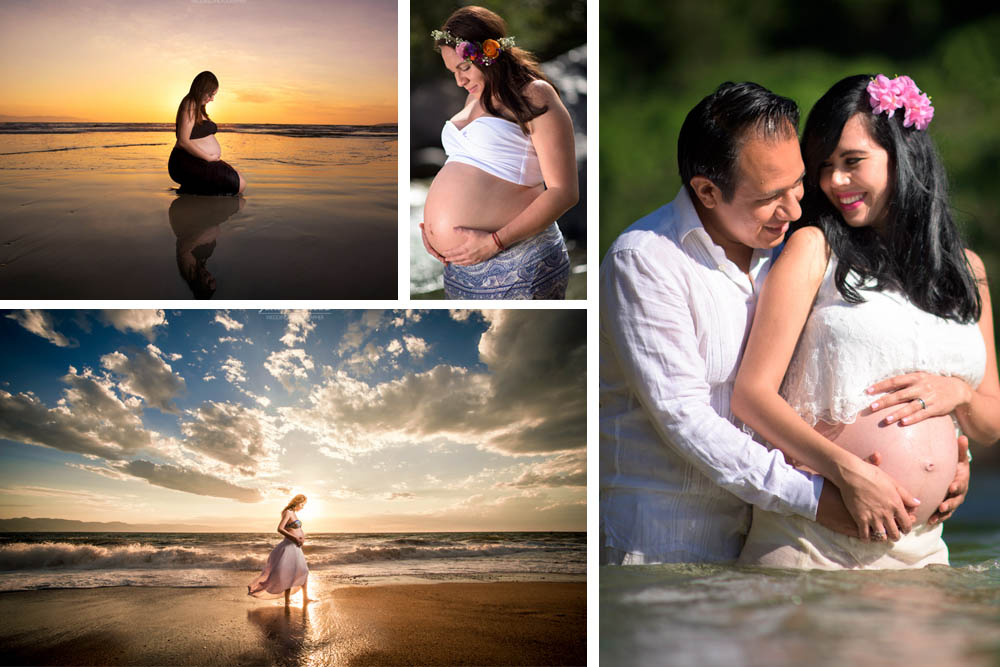 Maternity Photo Shoot - Puerto Vallarta