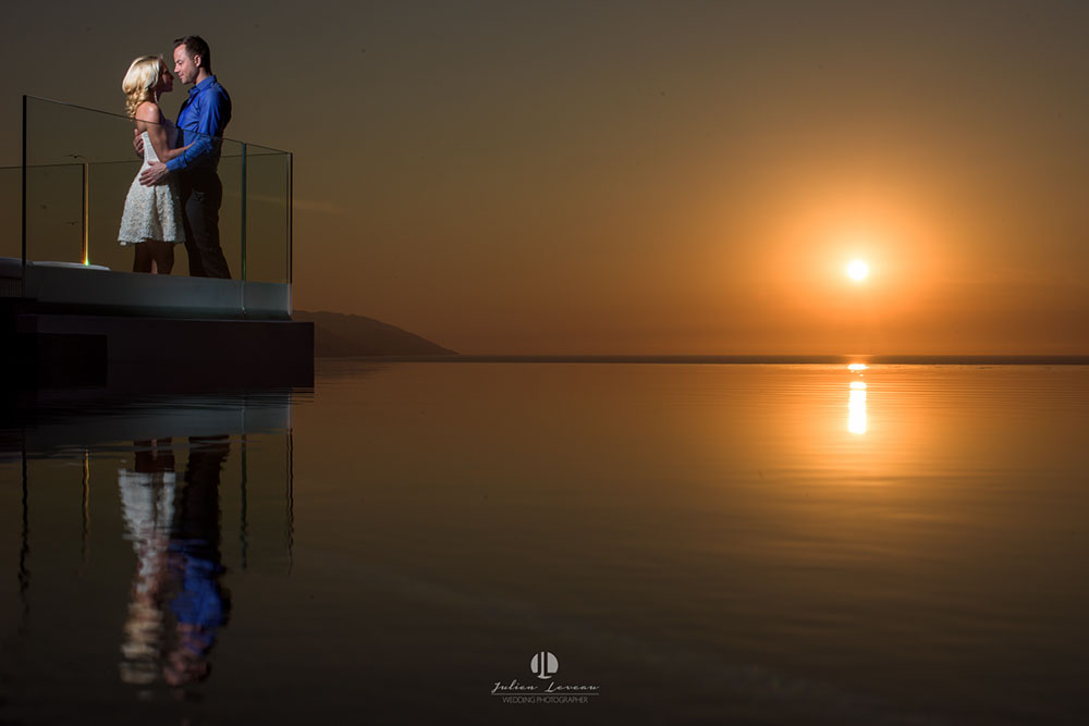 Engagement photo shoot in Puerto Vallarta Mousai hotel