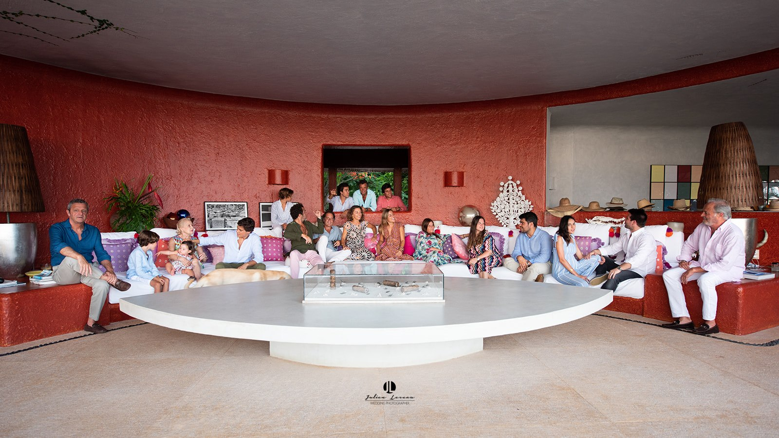 Family photo shoot at Cuixmala